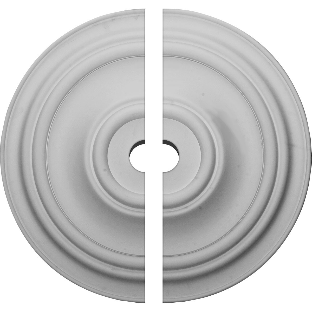 """EM-CM31TR2-03500 - 31 1/2""""OD x 3 1/2""""ID x 2 1/2""""P Traditional Ceiling Medallion, Two Piece (Fits Canopies up to 8 1/4"""")"""