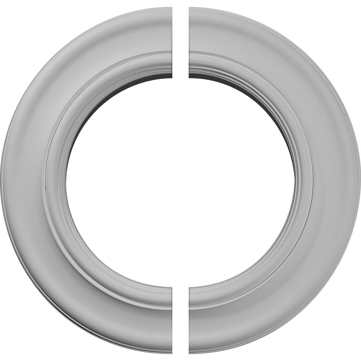"""EM-CM20HO2 - 20 7/8""""OD x 12 7/8""""ID x 1""""P Holmdel Ceiling Medallion, Two Piece (Fits Canopies up to 12 7/8"""")"""