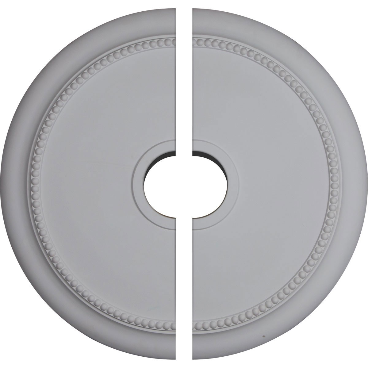 """EM-CM24CR2 - 24 1/8""""OD x 4 3/8""""ID x 2 1/4""""P Crendon Ceiling Medallion, Two Piece (Fits Canopies up to 4 3/8"""")"""
