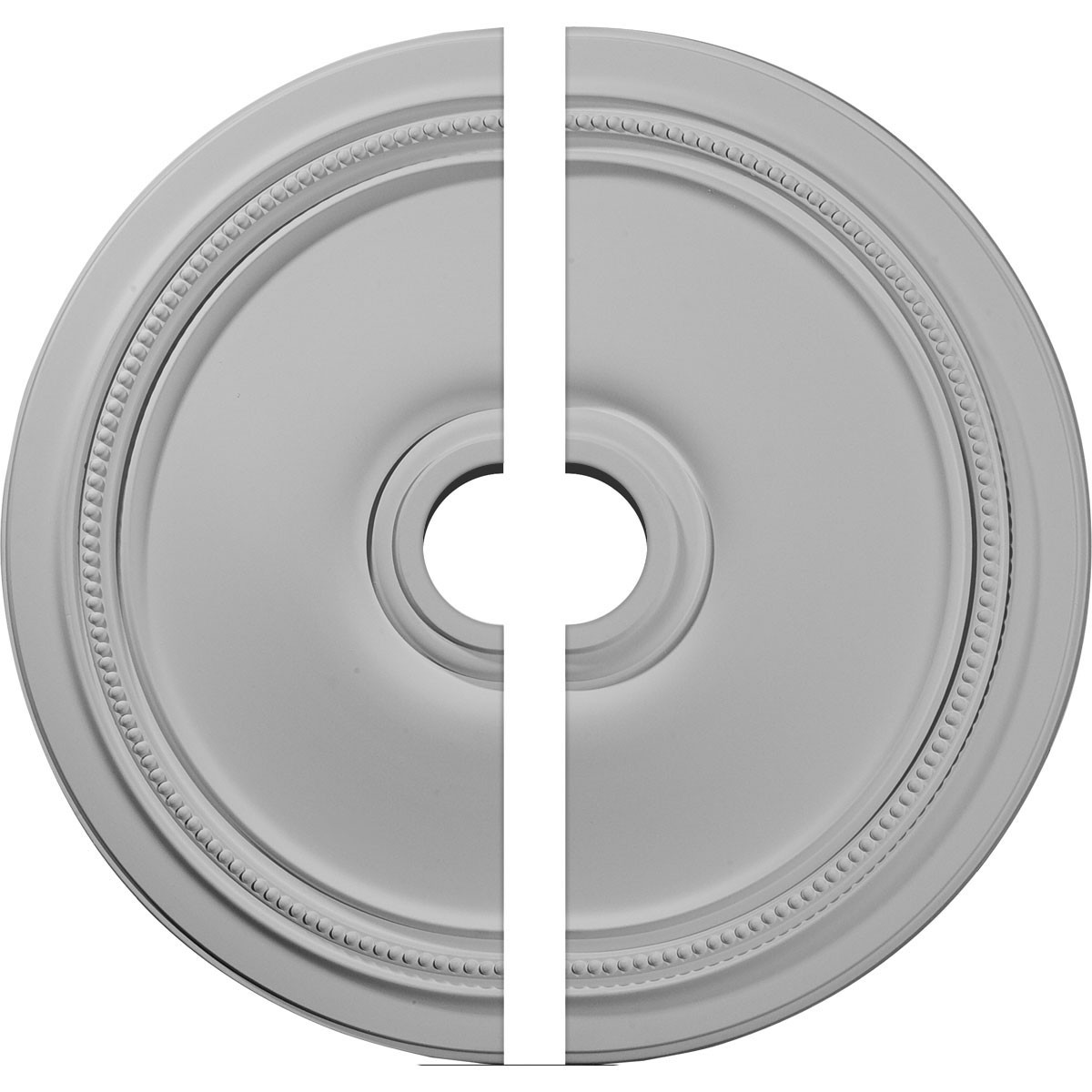 """EM-CM24DI2 - 24""""OD x 3 5/8""""ID x 1 1/4""""P Diane Ceiling Medallion, Two Piece (Fits Canopies up to 6 1/4"""")"""