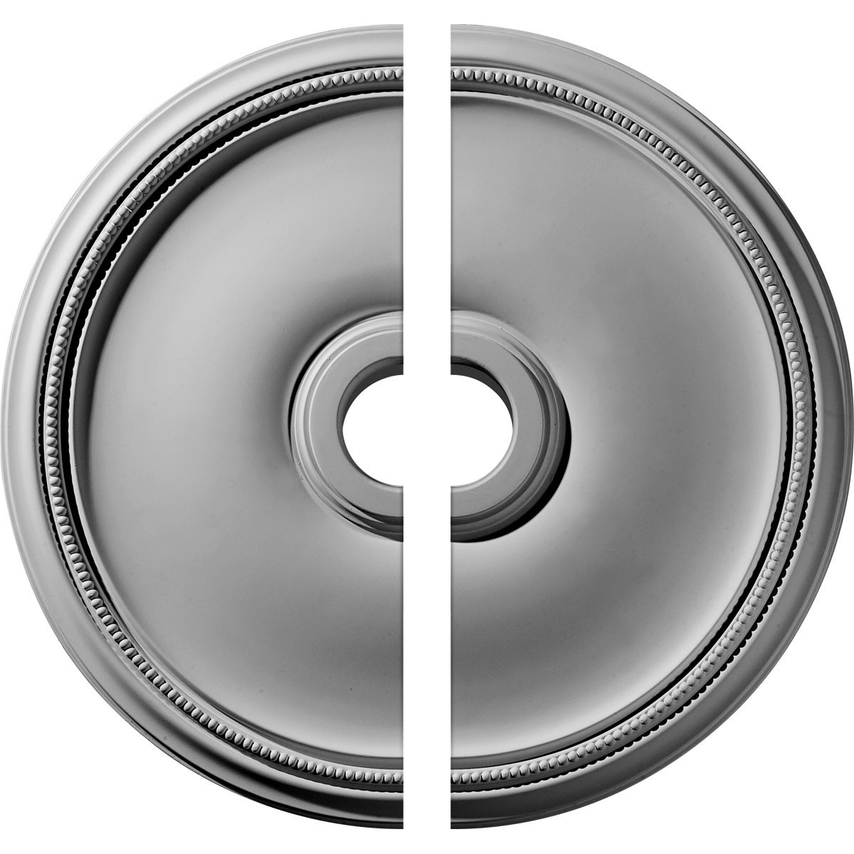 """EM-CM24TH2 - 24""""OD x 3 5/8""""ID x 1 3/4""""P Theia Ceiling Medallion, Two Piece (Fits Canopies up to 6 3/4"""")"""