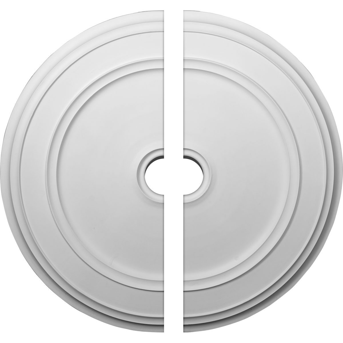 """EM-CM41CL2 - 41 1/8""""OD x 4""""ID x 2 1/8""""P Classic Ceiling Medallion, Two Piece (Fits Canopies up to 5 1/2"""")"""