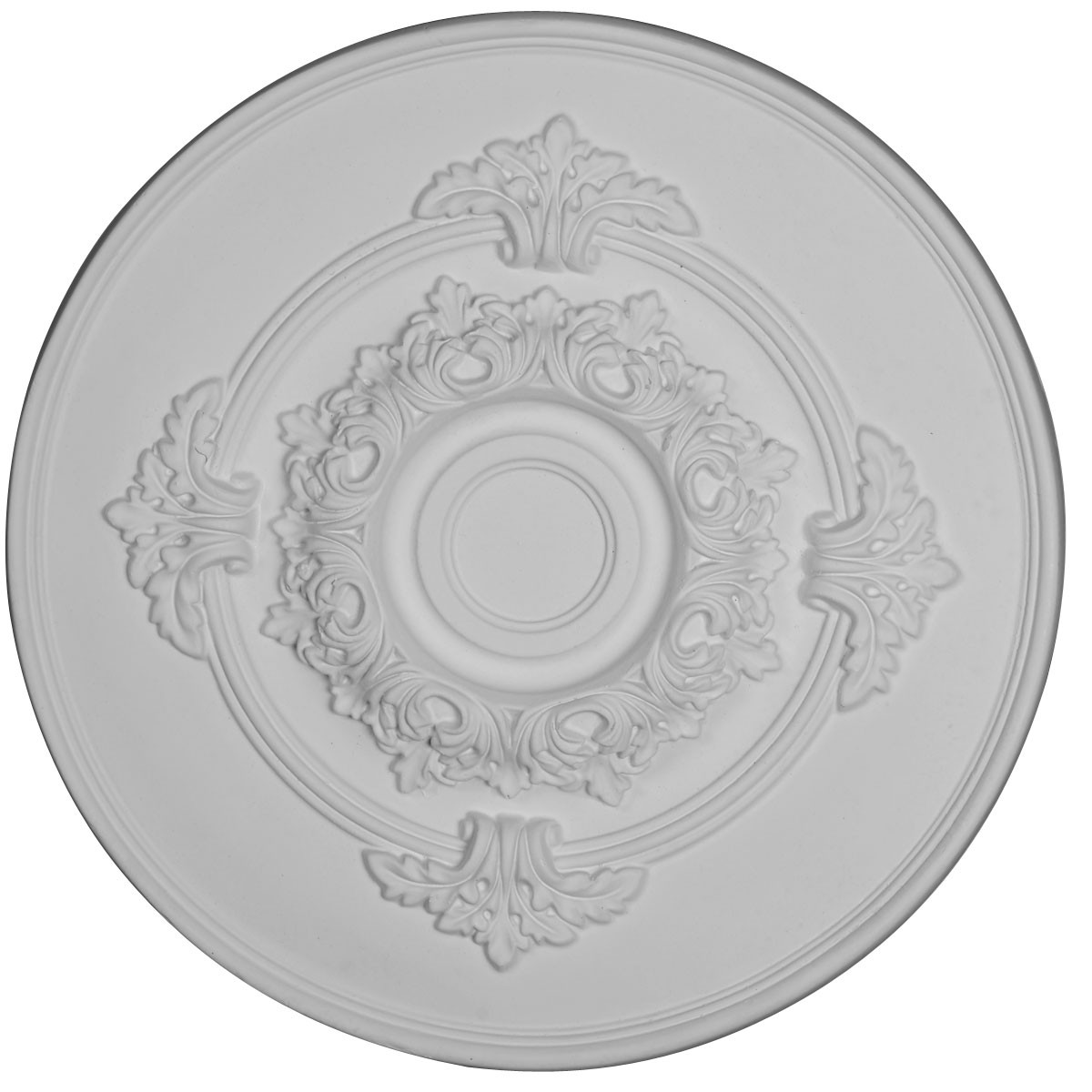 "EM-CM17TA - 17 1/2""OD Traditional with Acanthus Leaves Ceiling Medallion"