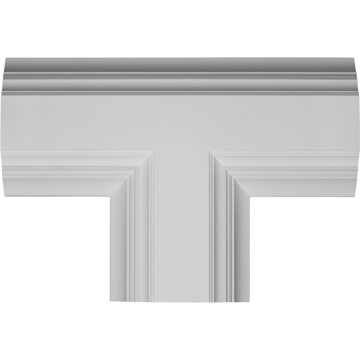 "EM-CC08ITE04X14X20DE - 14""W x 4""P x 20""L Inner Tee for 8"" Deluxe Coffered Ceiling System (Kit)"