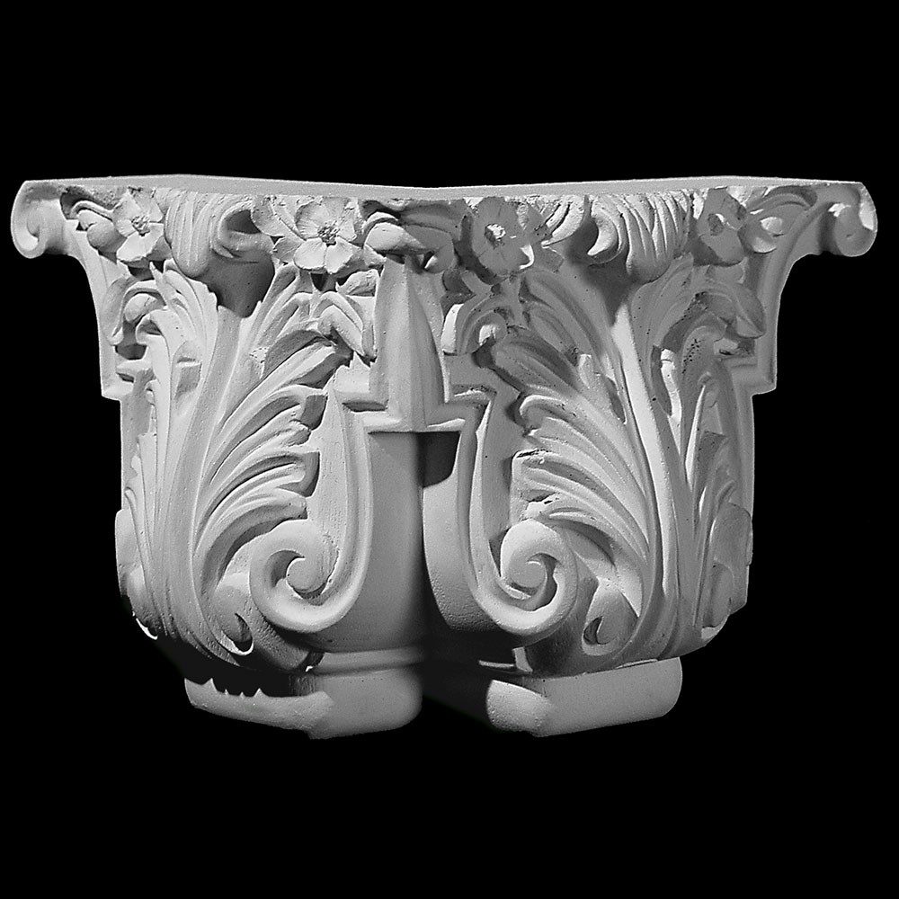 BASE-102A  Acanthus leaf classic resin furniture leg