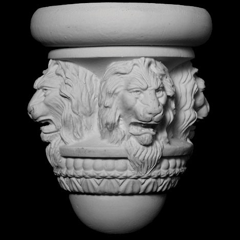 BASE-105 Lion Face resin Furniture Leg