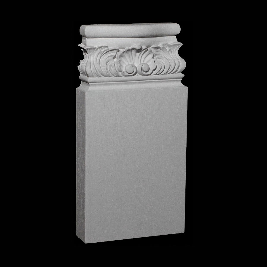 BASE-112 Series Acanthus Leaf and Shell Resin Columns Base