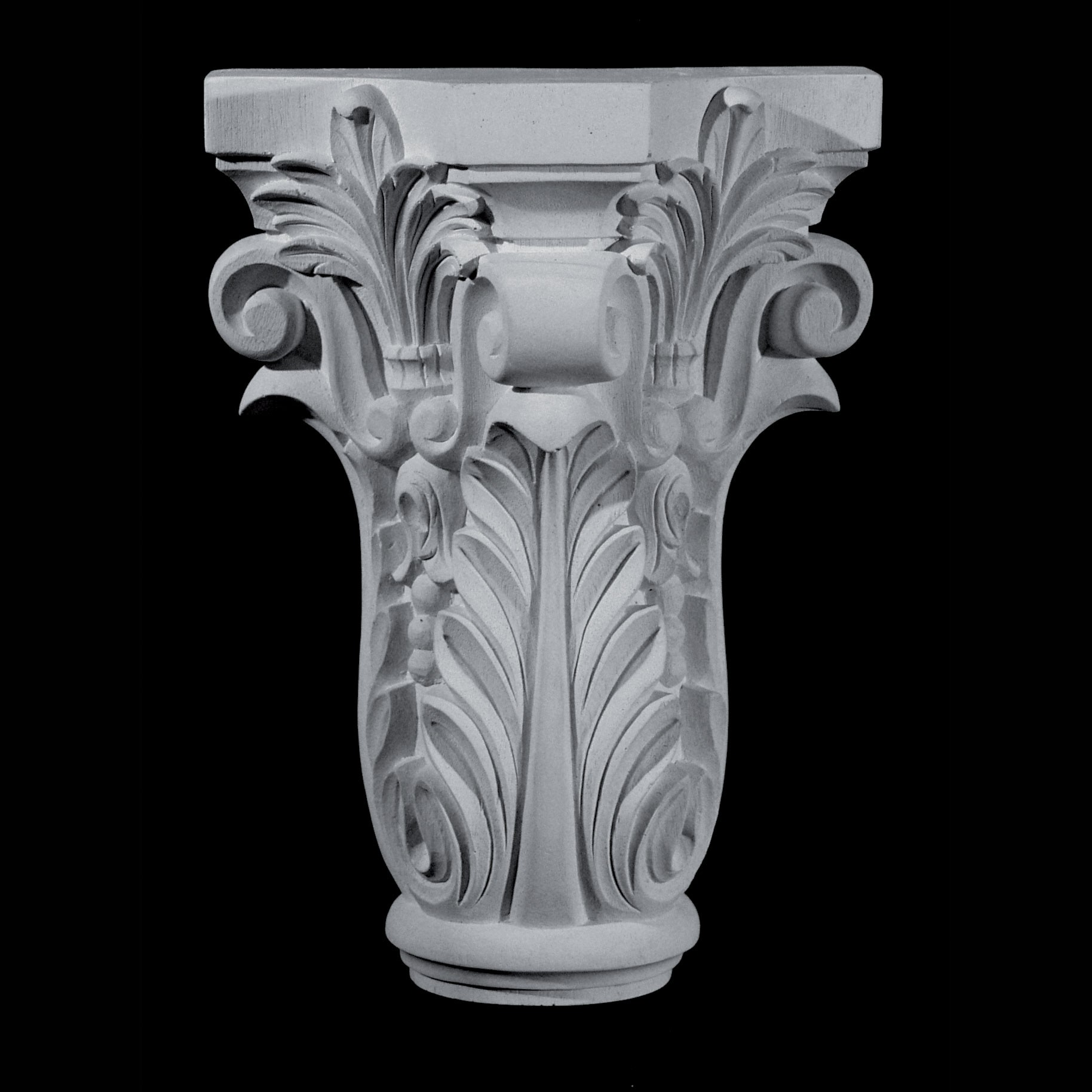 CAP-161 Series Acanthus Leaf and Fleur de lis Resin Capitol