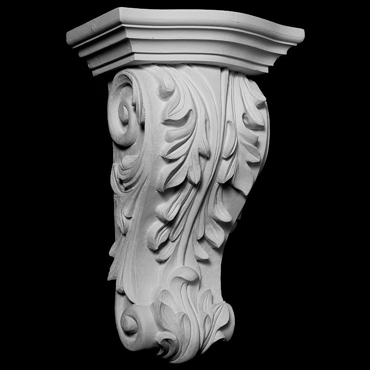CB-302 Series Acanthus Leaf Resin Corbel