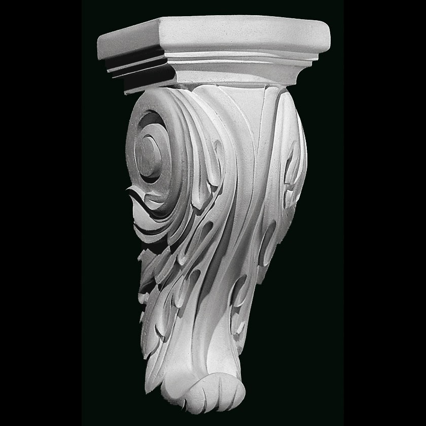 CB-317 Series Smooth Acanthus Leaf Resin Corbel