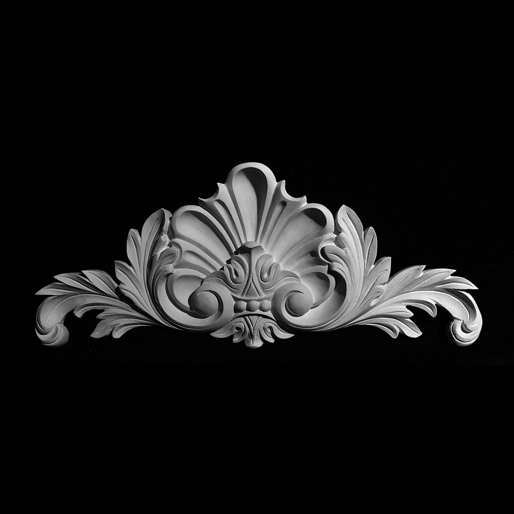 CT-195 Series Shell and Swag Resin Cartouche