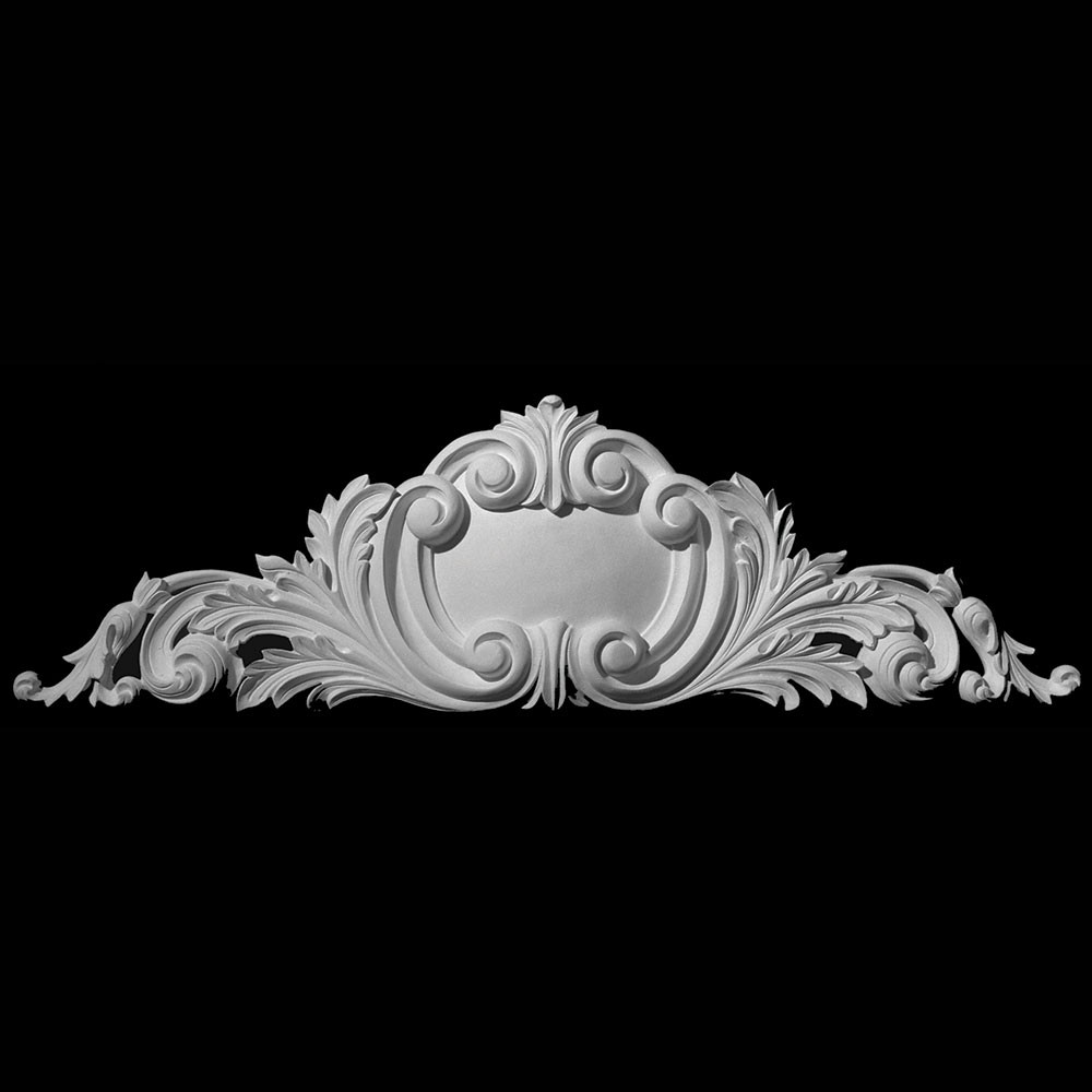 CT-191 Series Shield with Acanthus Leaf Resin Cartouche
