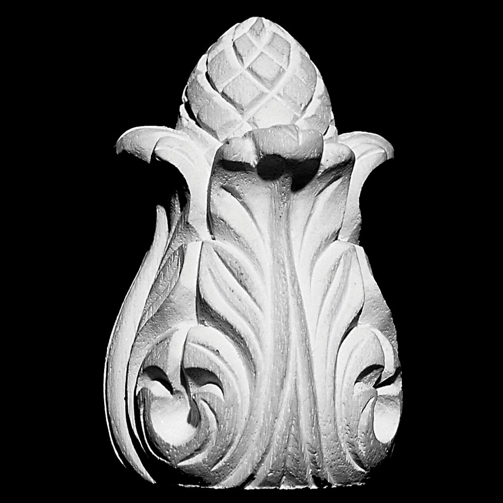 FIN-110 Acanthus Leaf Resin Finial