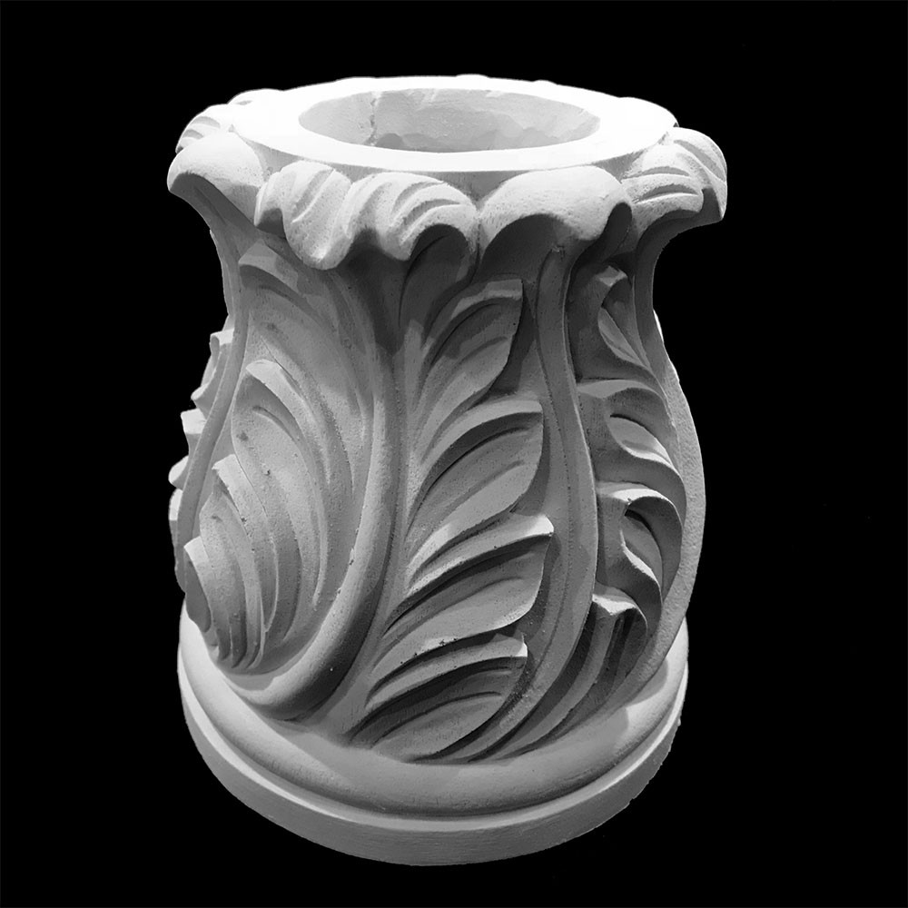 FIN-120 Acanthus Leaf Resin Finial