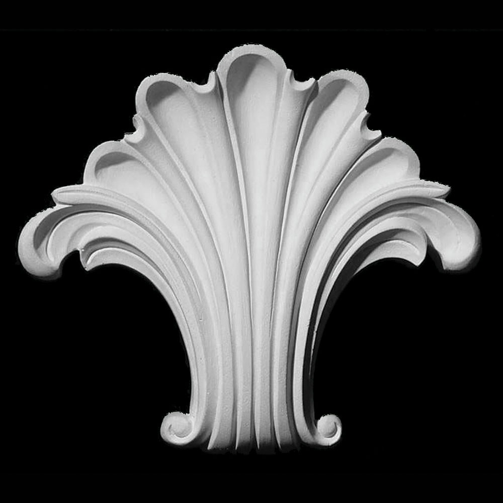 KS-103 Series Scallop Shell Resin Keystone