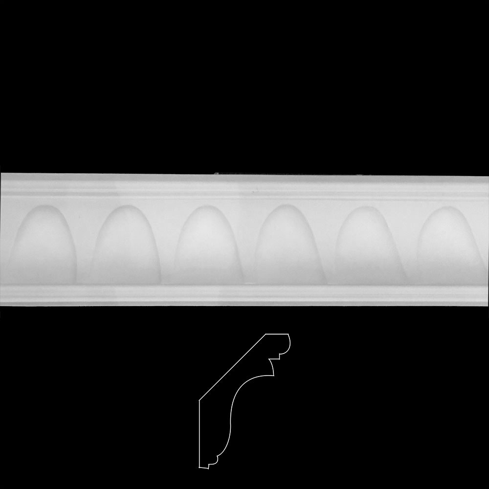 EASY CROWN DESIGN E Contemporary Arches Resin Moulding