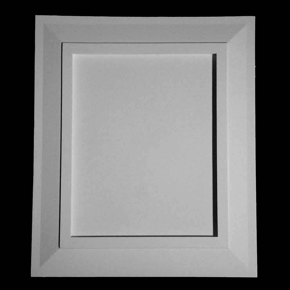 PANL-2 Series Frame with Traditional Detail Resin Panel