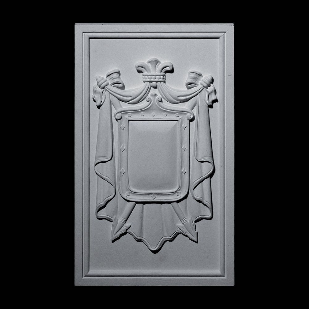 PANL-200 Shield with Backing Resin Panel Metal Finish