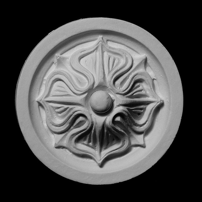 ROST-107 Disc Backing with Floret Resin Rosette