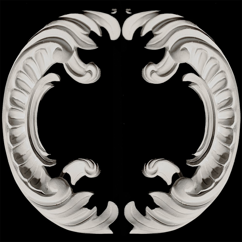 SCR-100 Scallop Scroll Pair