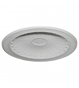 "EM-DOME47DE - 47 3/8""OD x 38 3/8""ID x 3 3/4""D Devon Recessed Mount Ceiling Dome (42""Diameter x 3 3/4""D Rough Opening)"