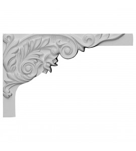 "EM-SB11X07SP-R - 11""W x 7""H x 5/8""D Springtime Stair Bracket, Right"