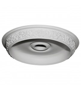 "EM-DOME28AS - 28 7/8""OD x 22""ID x 2 1/4""D Ashford Surface Mount Ceiling Dome"