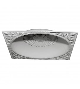 "EM-DOME59SU - 59""OD x 51 1/8""ID x 9""D Sussex Recessed Mount Ceiling Dome (55"" Diameter x 9 3/4""D Rough Opening)"