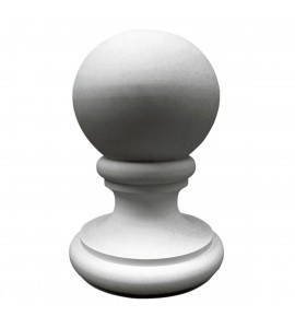 "EM-FIN14X21TR - 14 7/8""OD x 21 3/8""H Traditional Finial"