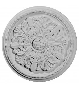 """EM-CM16SW - 16 7/8""""OD x 1 1/2""""P Swindon Ceiling Medallion (Fits Canopies up to 2 7/8"""")"""
