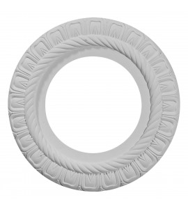 "EM-CM10CL - 10 5/8""OD x 5 3/4""ID x 1/2""P Claremont Ceiling Medallion (Fits Canopies up to 7"")"