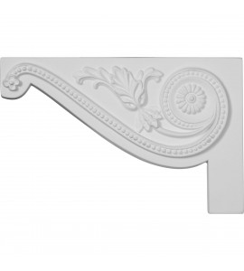 "EM-SB11X07PE-L - 11""W x 7""H x 5/8""D Large Pearl Stair Bracket, Left"