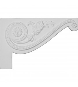 "EM-SB11X07PE-R - 11""W x 7""H x 5/8""D Large Pearl Stair Bracket, Right"