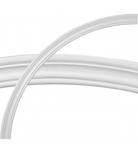 """EM-CR52OX - 52""""OD x 47""""ID x 2""""W x 3/4""""P Oxford Ceiling Ring (1/4 of complete circle)"""