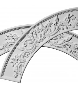"""EM-CR49TO - 49 1/4""""OD x 37 1/4""""ID x 6""""W x 1 1/4""""P Tomango Ceiling Ring (1/4 of complete circle with use of ONL04X06X01OX)"""