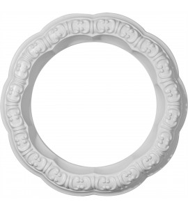 "EM-CR09SW - 10""OD x 6 5/8""ID x 1 5/8""W x 1 1/4""P Swindon Ceiling Ring"
