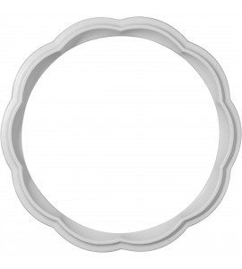 "EM-CR07WG - 7 3/4""OD x 6 1/4""ID x 3/4""W x 1/2""P Wigan Ceiling Ring"
