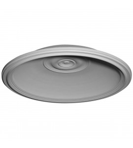 "EM-DOME32TR - 36 5/8""OD x 32 5/8""ID x 6 1/2""D Traditional Recessed Mount Ceiling Dome (32 5/8""Diameter x 6""D Rough Opening)"