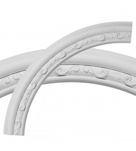 "EM-CR35WA - 36""OD x 29 1/2""ID x 3 1/4""W x 1""P Watford Ceiling Ring (1/4 of complete circle)"