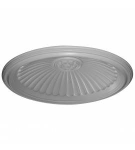 "EM-DOME44ED - 44 1/8""OD x 37""ID x 6 7/8""D, Edwards Ceiling Dome, 3 1/2""W Trim (36 1/2""Diameter x 8 7/8""D Rough Opening)"