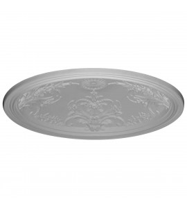 "EM-DOME46BE - 45 5/8""OD x 39 3/8""ID x 8""D, Benson Ceiling Dome, 3 1/8""W Trim (39""Diameter x 8""D Rough Opening)"