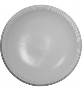 "EM-DOME44SM - 44 1/8""OD x 39""ID x 8 3/8""D, Recessed Smooth Ceiling Dome, 2 1/2""W Trim (40""Diameter x 7 3/4""D Rough Opening)"