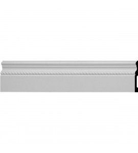 "EM-BBD06X01OS - 6""H x 5/8""P x 96""L Oslo Rope Baseboard Moulding"