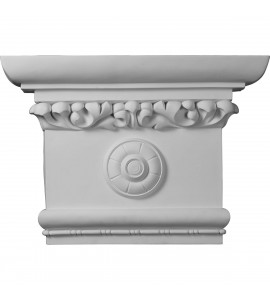 "EM-CAP24X17X06VI - 24""W x 16 1/2""H x 6""P Victorian Capital (Fits Pilasters up to 16""W x 2 1/8""D)"