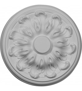 "EM-CM08MU - 7 7/8""OD x 1/4""P Millin Ceiling Medallion (Fits Canopies up to 2"")"