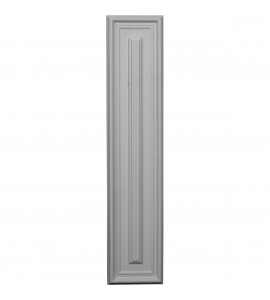 "EM-PNL22X05LE - 22 5/8""W x 4 3/4""H x 5/8""P Legacy Rectangle Wall/Door Panel"