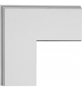 """EM-CC05POC02X14X14TR - 14""""W x 2""""P x 14""""L Perimeter Outside Corner for 5"""" Traditional Coffered Ceiling System"""
