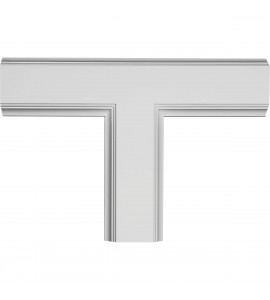 """EM-CC05ITE02X14X20TR - 14""""W x 2""""P x 20""""L Inner Tee for 5"""" Traditional Coffered Ceiling System"""