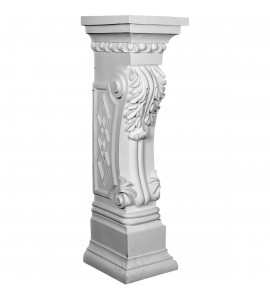 "EM-SUR35X10X11SC - 9 7/8""W x 11 1/8""D x 34 5/8""H Scroll Leaf Surround"