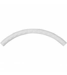 "EM-CR44MI - 43 5/8""OD x 39 3/8""ID x 2 1/8""W x 7/8""P Milton Ceiling Ring (1/4 of complete circle)"
